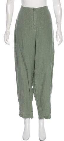 Oska High-Rise Straight-Leg Pants