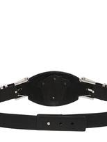 Versace 35mm Medusa Leather High Waist Belt