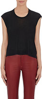 Etoile Isabel Marant Women's Anette Cap-Sleeve T-Shirt-BLACK
