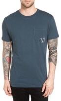 RVCA Letterpress Graphic Pocket T-Shirt