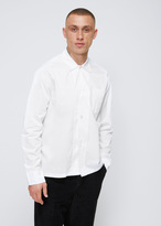 Our Legacy White Superfine Twill Box Shirt