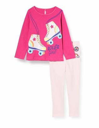 Lina Pink Girls' BF.ROLL.PL Pyjama Sets