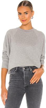 Marissa Webb So Uptight Loop Back Raglan Sweatshirt