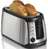 Hamilton Beach Keep Warm 4-Slice Long Slot Toaster