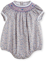 Luli & Me Floral Bubble Playsuit, Size 3-24 Months