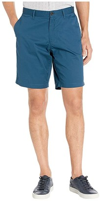 Michael Kors Washed Poplin Shorts (Field Blue) Men's Shorts