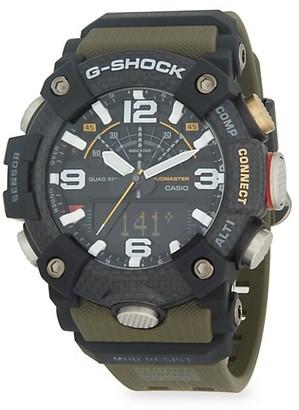 G-Shock Mudmaster Digital Resin Strap Watch