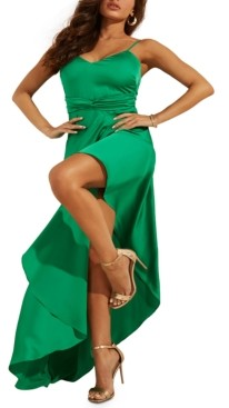 GUESS Kaia Asymmetrical-Hem Dress