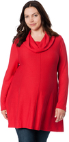 Motherhood Plus Size Hanky Hem Maternity Sweater