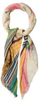 Figue Abstract Print Scarf w/ Tags