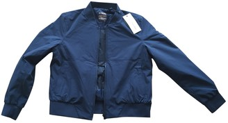Scaglione Blue Jacket for Women