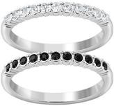Swarovski Mixed Crystal Ring Set - Size 6