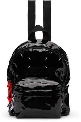 Maison Margiela Black Mini Shiny Backpack
