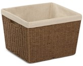 Honey-Can-Do Parchment Cord Basket with Liner