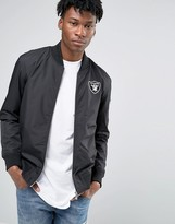 New Era Raiders Bomber Jacket