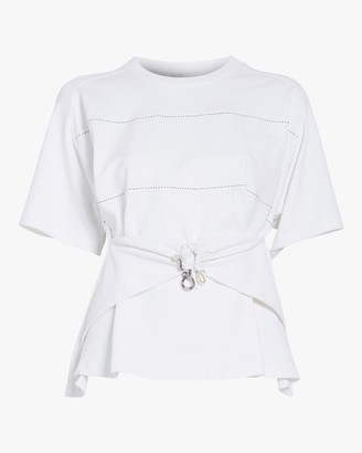 Carven Draped T-shirt