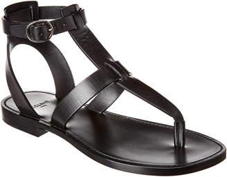 Celine Lerins Vegetal Leather Sandal