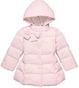 Kate Spade Girls bow neck puffer coat