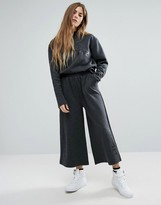 Ellesse Minimal Wide Leg Trousers With Logo Co-Ord