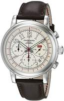 Chopard Men's 168511-3036 LBR Stainless Steel Watch with Brown Band