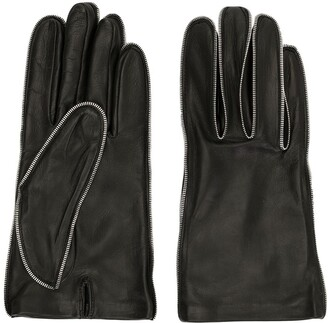 Alexander Wang Zipper Teeth Gloves