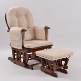 Royal Glider Chair Finish: Walnut