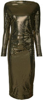 Vivienne Westwood metallic fitted dress - women - Spandex/Elastane/Viscose - M