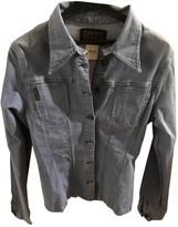 Plein Sud Jeans Blue Cotton Jacket for Women Vintage