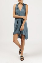 Azalea Layered Front Sleeveless Dress