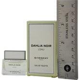 Givenchy DAHLIA NOIR L'EAU by for WOMEN: EDT .17 OZ MINI (note* minis approximately 1-2 inches in height)