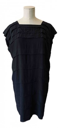Bruuns Bazaar Black Silk Dress for Women