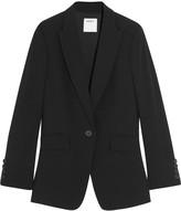 DKNY Open-back crepe blazer