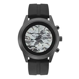Kenneth Cole Reaction Men's Dress Sport Analog-Quartz Watch with Silicone Strap