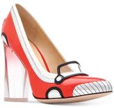 Katy Perry Thelma Race Car Pumps