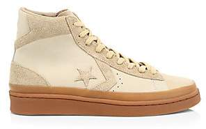 Converse Men's Pro Leather Mid 2000 Era Suede Sneakers