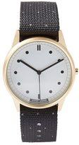 Frank & Oak Hypergrand 01Nato Bigsby Watch In GoldWhite