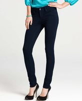 Ann Taylor Tall Knit Denim Skinny Jeans