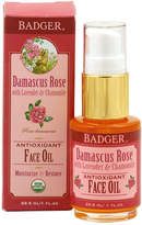 Badger Organic Damascus Rose Antioxidant Face Oil by 1oz Oil)
