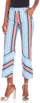 Love Moschino Cropped Stripe Pants
