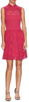 M Missoni Mandarin Collar Knit Dress