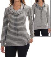 Tommy Bahama Beachwood Striped Reversible Shirt - Funnel Neck, Long Sleeve (For Women)