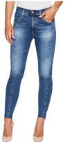 AG Adriano Goldschmied The Farrah Ankle in 10 Years Rhythmic Blue Women's Casual Pants