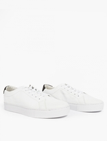 Saturdays Surf NYC White Leather Derek Sneakers