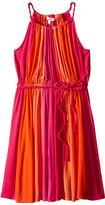 Ella Moss Bella Twisted Color Block Dress (Big Kids)