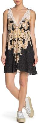 Free People Morning Sun Slip Mini Dress
