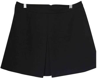 Vince Black Cotton - elasthane Skirt for Women