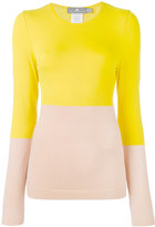 adidas by Stella McCartney color-blocked sweatshirt