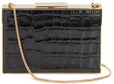 Aspinal of London Women's Scarlett Box Clutch Bag Black