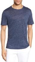 Zachary Prell Men's Monad Colorblock Linen T-Shirt