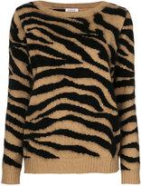 P.A.R.O.S.H. tiger stripe knit top